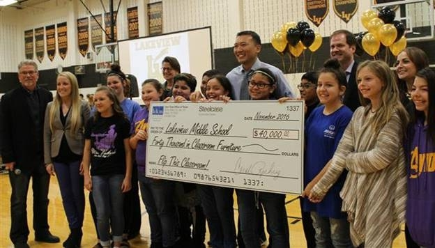 citybizlist : dallas : lakeview middle school wins bkm total