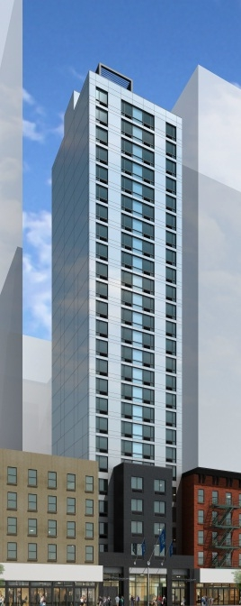 Αποτέλεσμα εικόνας για Marriott Fairfield designed by Gene Kaufman Architect opens this summer in Lower Manhattan