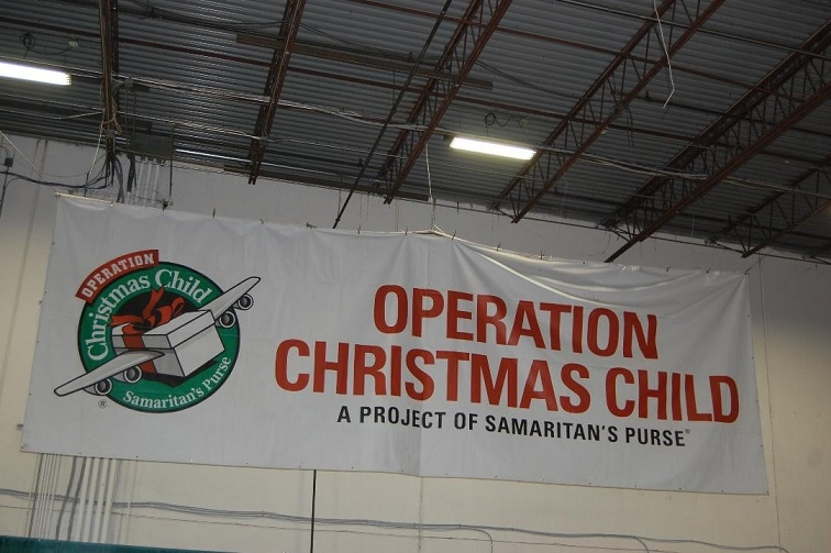 Liberty Property Trust Has Been Extremely Accommodating In Its Support Of Operation Christmas Child For The Past Several Years With This Large Space